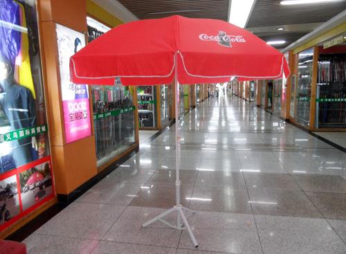 商场内部太阳伞