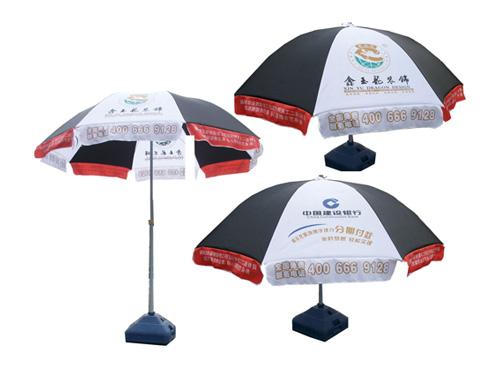 金玉龙装饰太阳伞