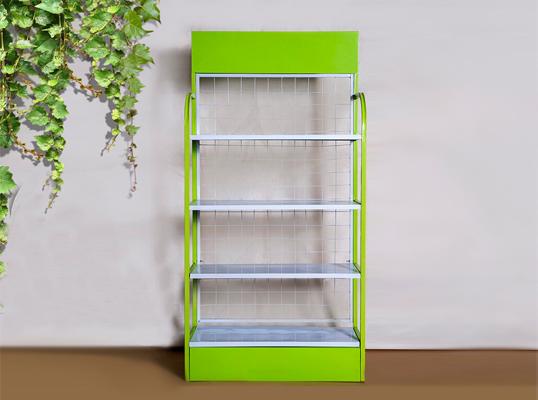 绿色展示架